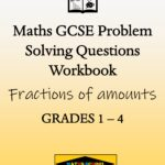 Fractions of amounts Practice Exam Questions Workbook