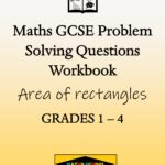 Area of rectangles Practice Exam Questions Workbook