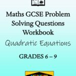 Solving Quadratic Equations Practice Exam Questions Workbook