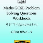 3D Trigonometry Practice Exam Questions Workbook