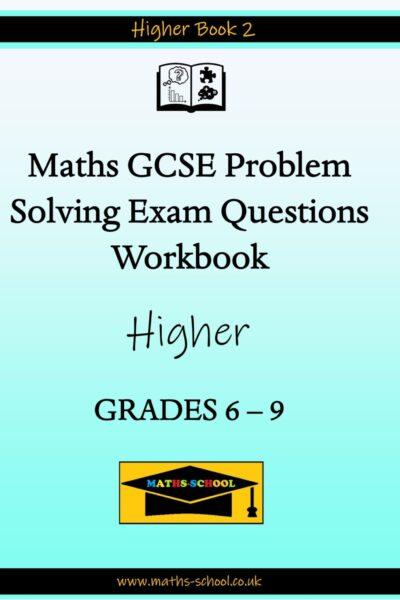 GCSE Grade 6-9 Exam Problem Solving Workbook