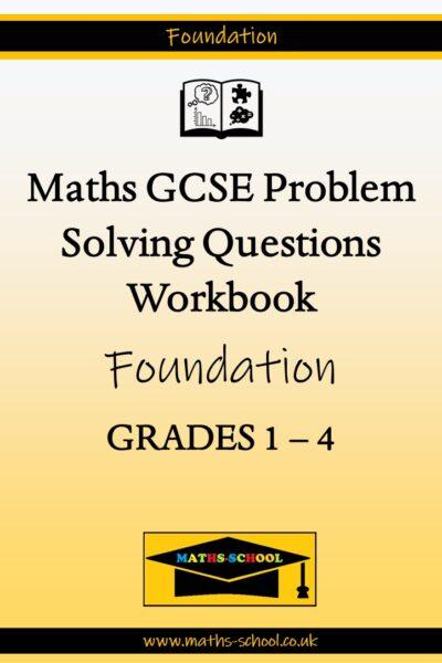 GCSE Grade 1-3 Exam Problem Solving Workbook