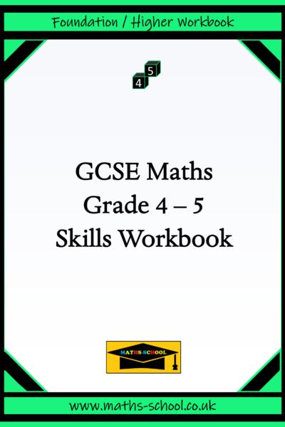 GCSE Grade 4-5 Skills Workbook