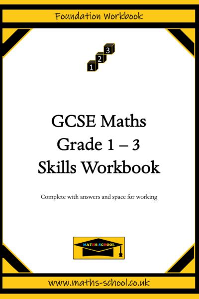 GCSE Grade 1-3 Skills Workbook